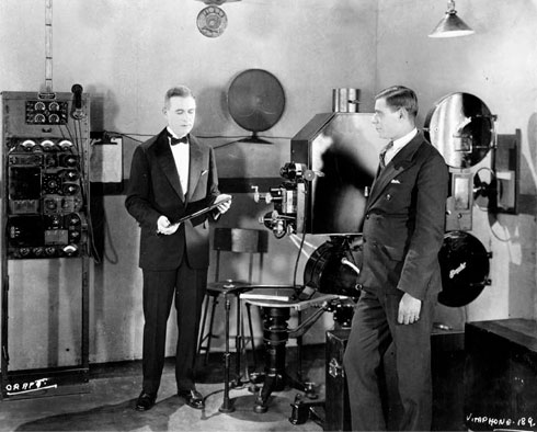 vitaphone projector