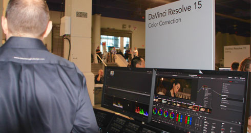 dvinci resolve 15 nab2018