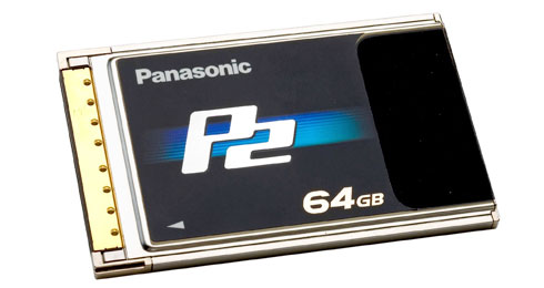 p2 64GB panasonic